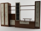 Wall unit for a living room