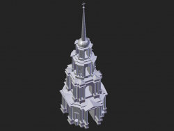 रियाज़ान। कैथेड्रल बेल टॉवर