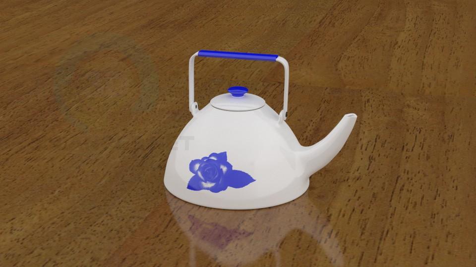 3d модель Чайник2 – превью