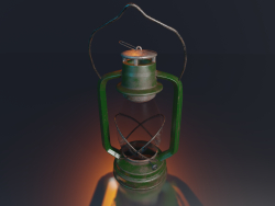 Bat Lampe