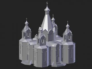 Desnogorsk. Cathedral