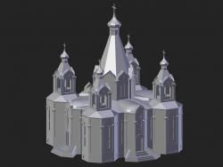 Desnogorsk. Catedral
