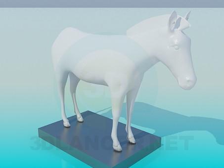 3d моделирование Зебра модель скачать бесплатно
