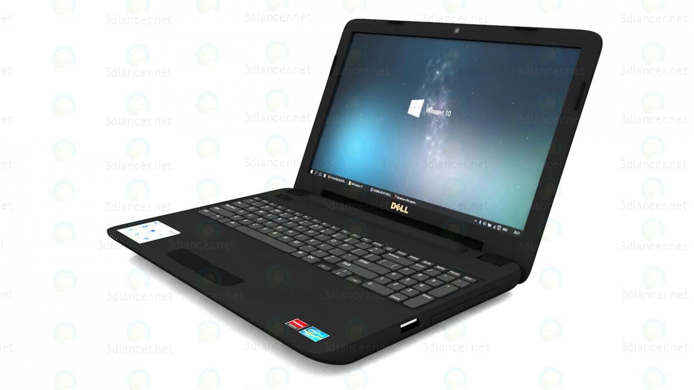 3d Ноутбук Dell inspiron 15 (3521) модель купить - ракурс