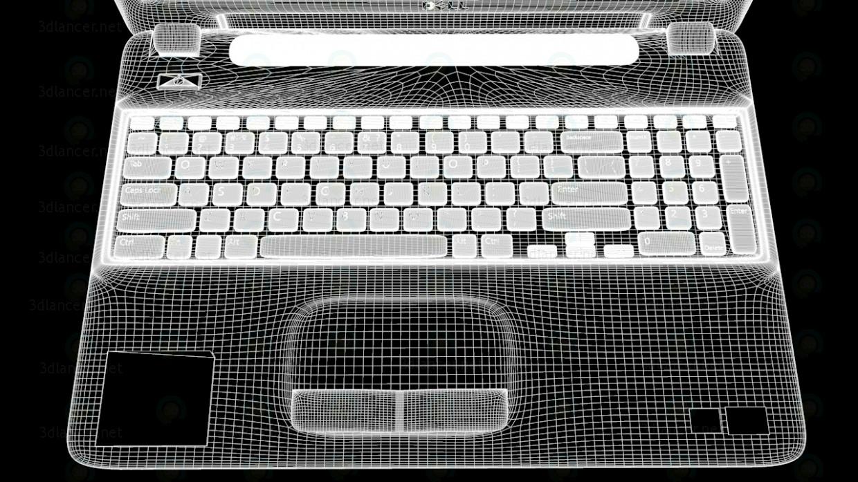 3d Laptop Dell inspiron 15 (3521) model buy - render