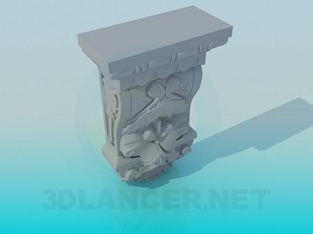 3d modeling Decor sculpture model free download