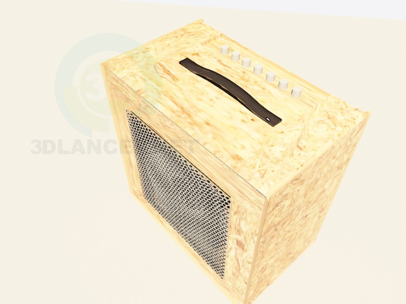 3d model Combo amplifier for electric guitar - preview