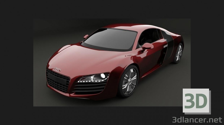 3 डी Audi R8 मॉडल खरीद - रेंडर