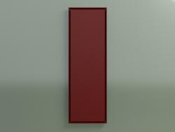 Face do radiador (1800x600, Claret - RAL 3003)