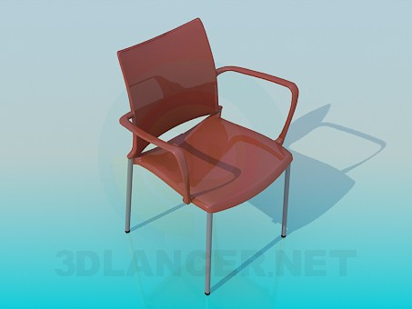 3d model Chair with smooth surface - preview