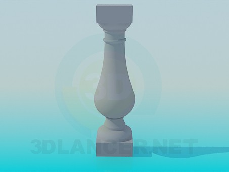 3d modeling Decorative element from plaster model free download