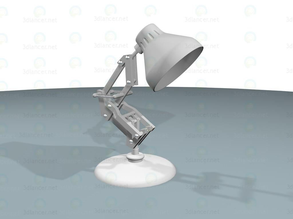 3 डी मॉडल टेबल लैंप - पूर्वावलोकन