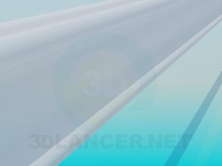3d модель Багет High Poly – превью