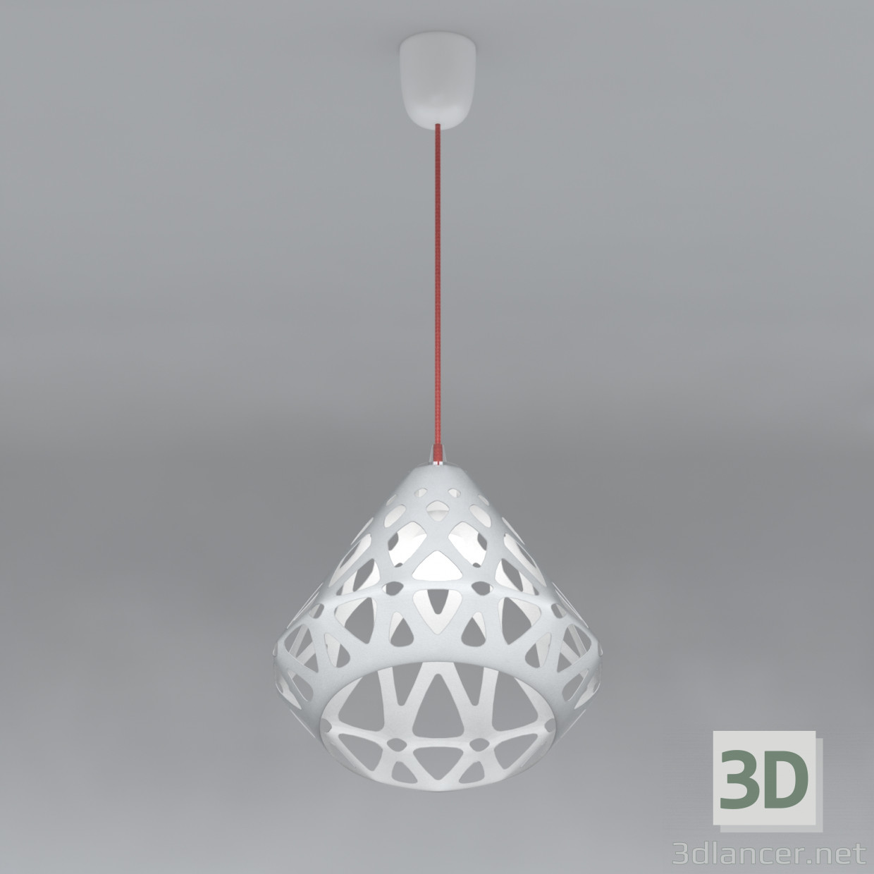 3d modeling ZAHA hanging lamp LIGHT model free download