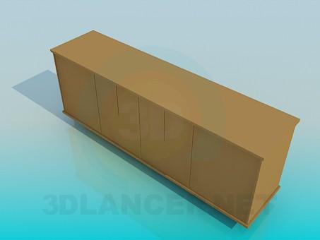 modelo 3D Soporte de suelo - escuchar