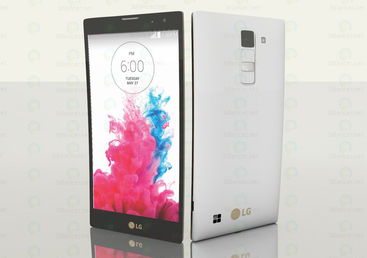 3d  LG Magna Smartphone  model buy - render