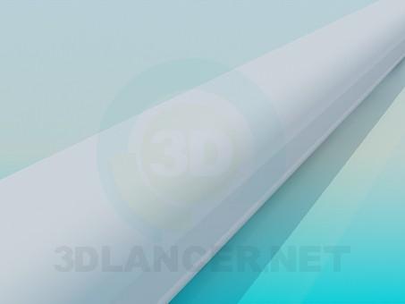 modelo 3D Baguette alta poli - escuchar