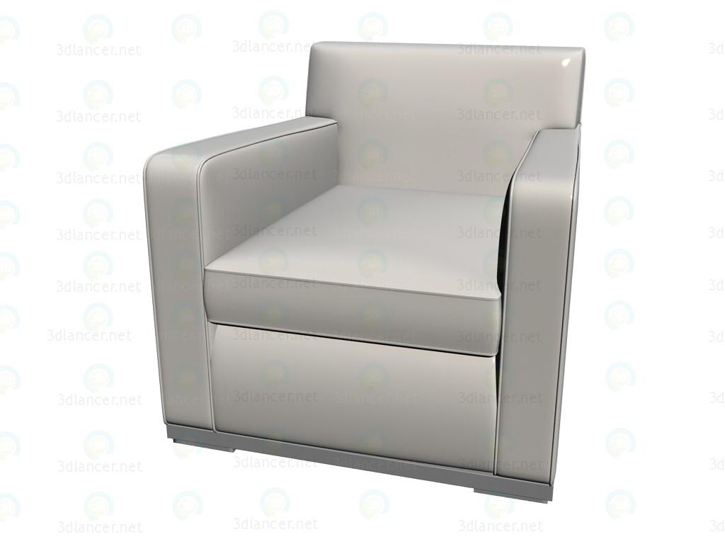 3d modeling Armchair 9865 model free download