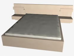 Malm bed