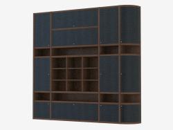 Mur de meubles pour le salon (go 200)