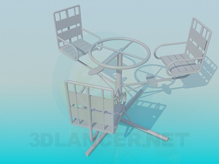 3d modeling Carousel model free download
