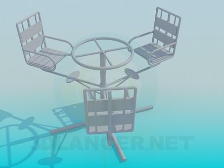 3d model Carousel - preview
