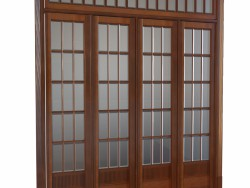 A set of doors