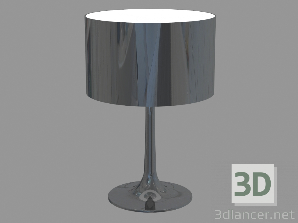 Outstanding 3D Model Table Lamp Spun Light Table 2 Flos Max 2013 Download Free Architecture Designs Ferenbritishbridgeorg