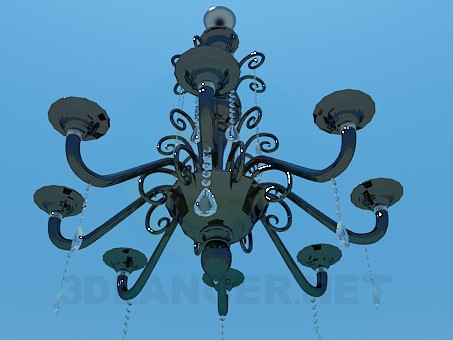 3d model Chandelier for the Hall - preview