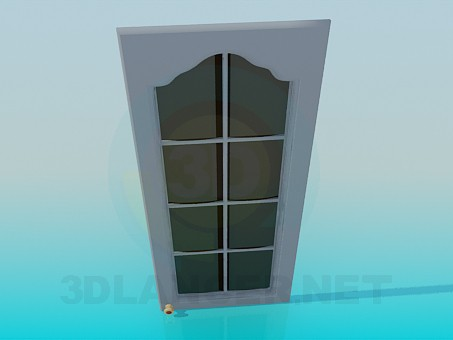 3d modeling The door from the hanging cabinet model free download