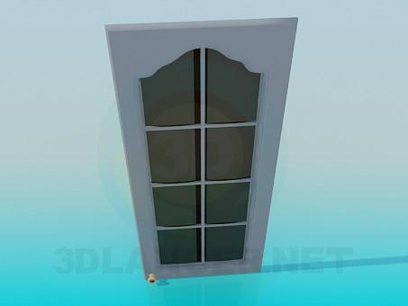 modelo 3D La puerta de gabinete de colgar - escuchar