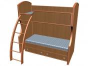 Кровать 2-ярусная А905