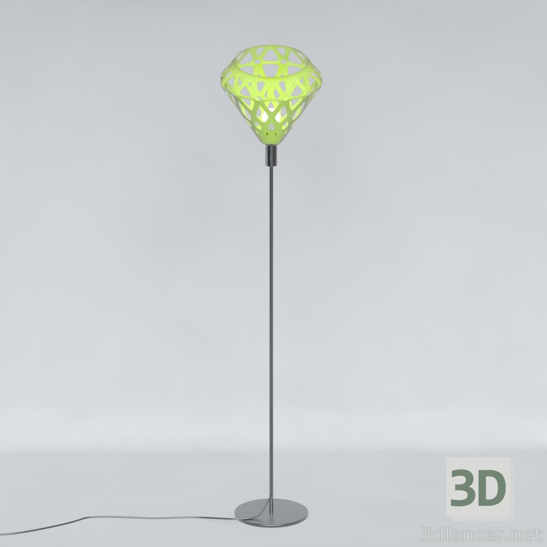 3 डी मॉडल Torchiere प्रकाश ZAHA - पूर्वावलोकन