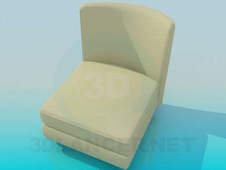 modelo 3D Crema de silla - escuchar