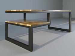 LOFT शैली कॉफी टेबल
