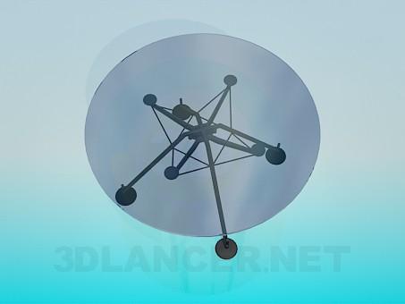 3D Modell Runder Tisch - Vorschau