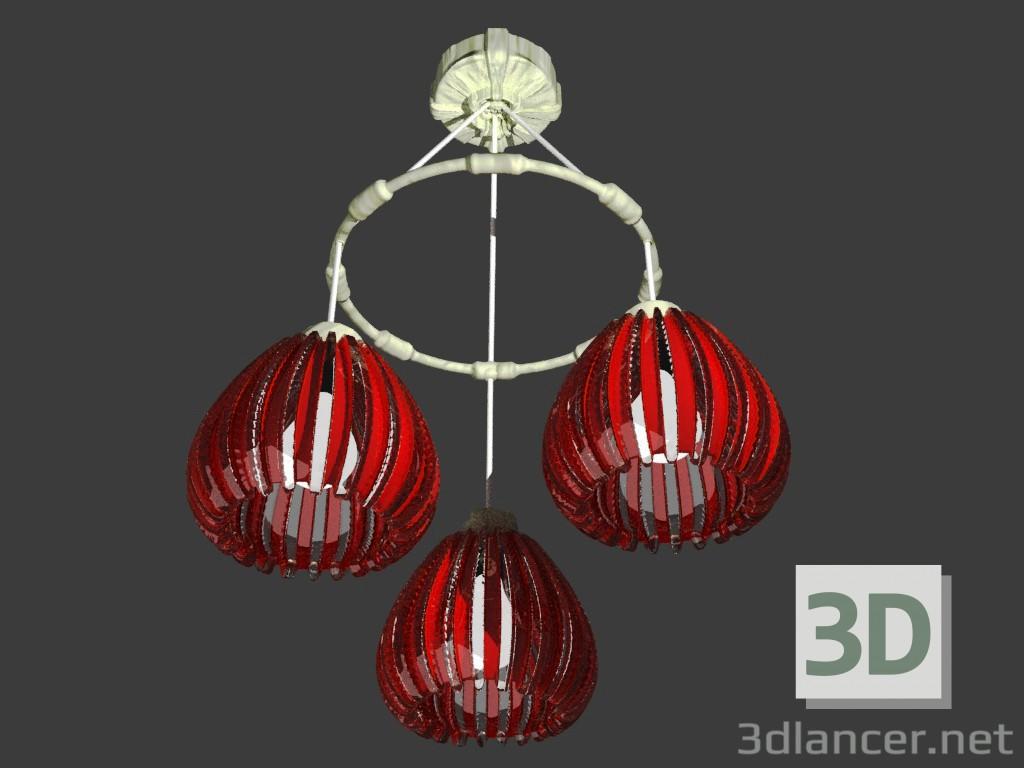 3d model luster id 15236. Black Bedroom Furniture Sets. Home Design Ideas