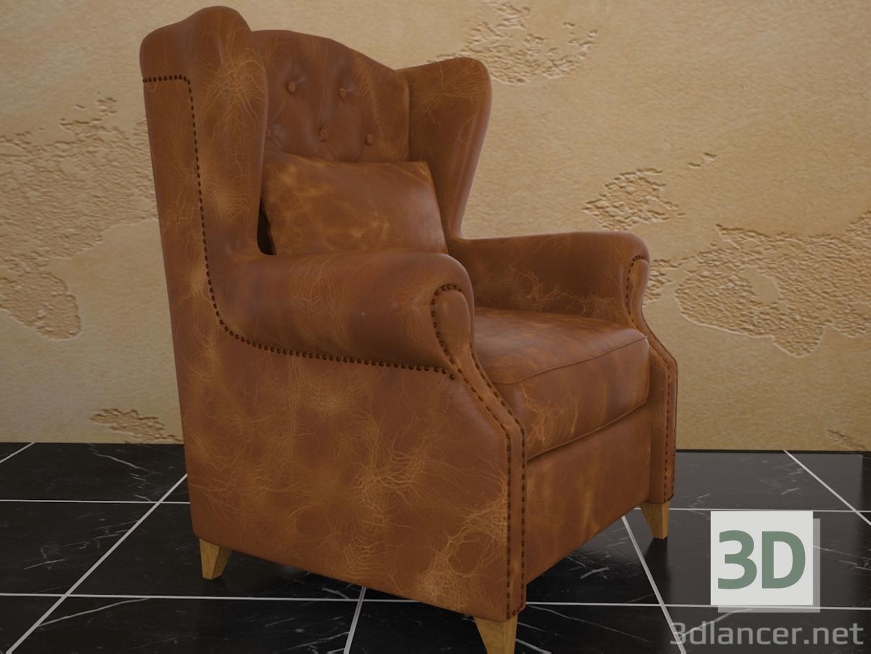 3 डी मॉडल एएसटी कुर्सी - पूर्वावलोकन