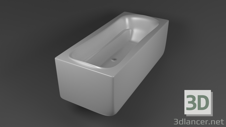 3 डी मॉडल स्नान - पूर्वावलोकन