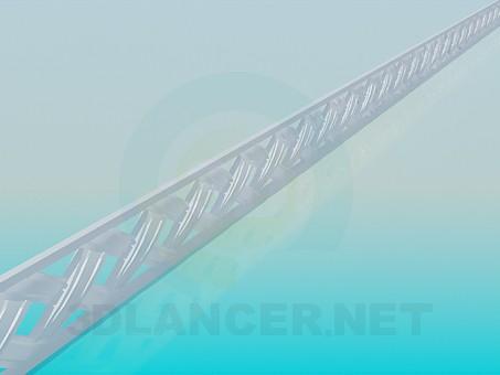 modelo 3D Moldeado de polietileno alta - escuchar