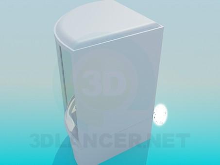 modelo 3D Ducha grande - escuchar