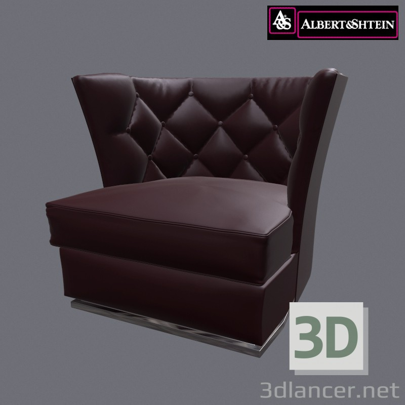 3d modeling Armchair Folio model free download