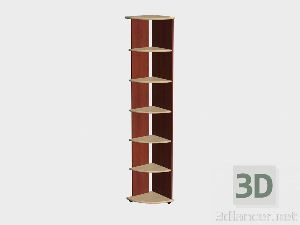 3d моделювання Стелаж кутовий Корсика (VС6) модель завантажити безкоштовно