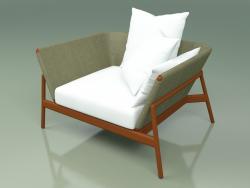 Sofa 001 (Metal Rust, Batyline Olive)
