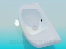 Trapezförmigen Waschbecken