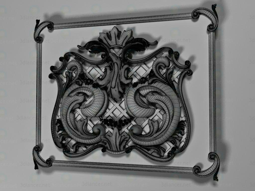 3d Carving model buy - render