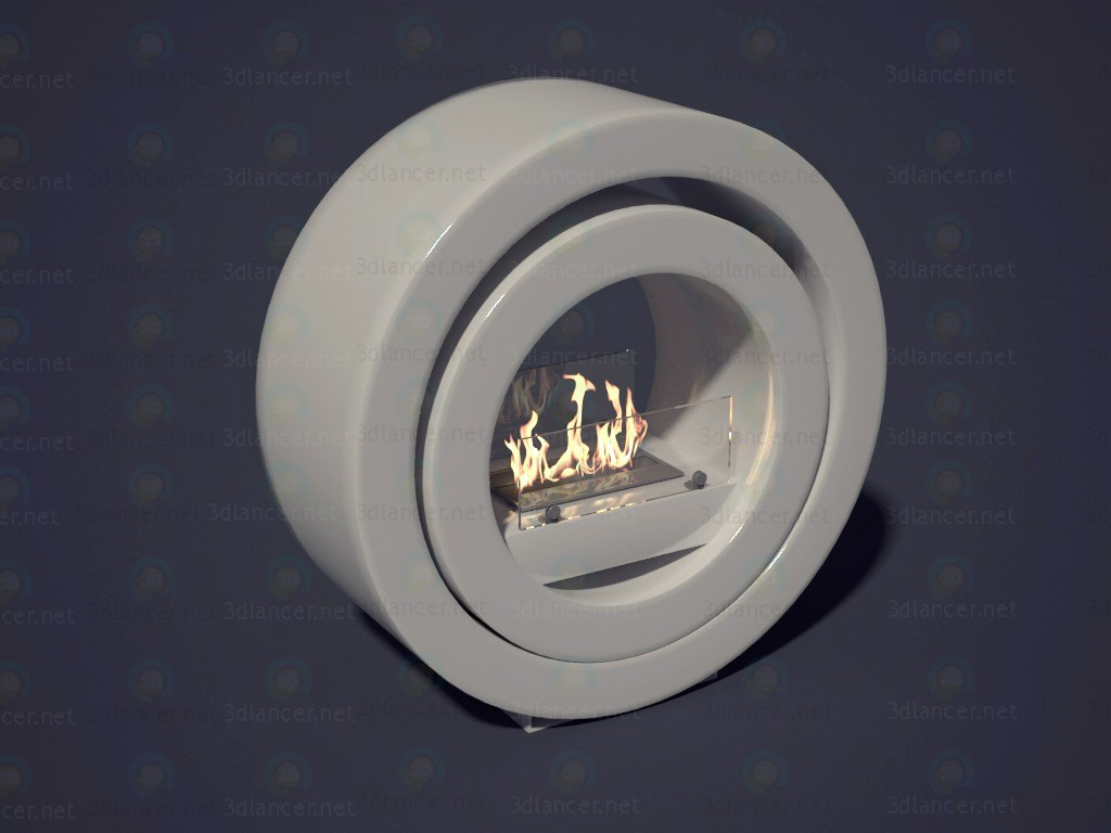 3d model Ethanol Bio fireplace - preview