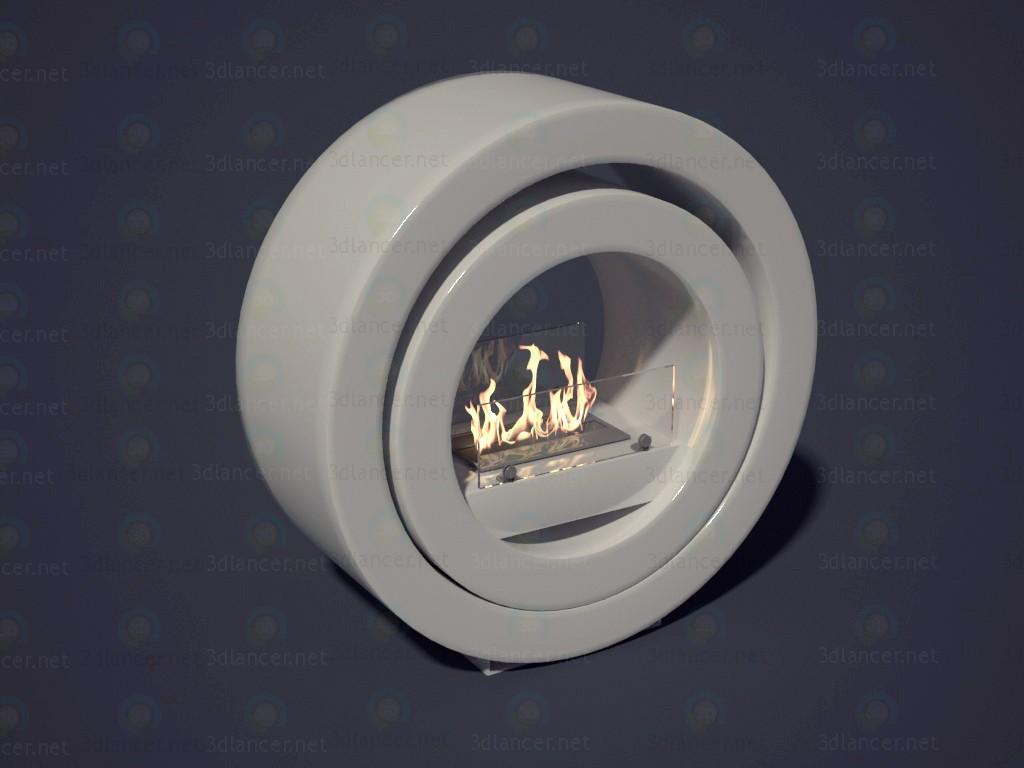 modelo 3D Biochimenea de etanol - escuchar