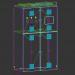 3 डी मॉडल विद्युत कैबिनेट - पूर्वावलोकन