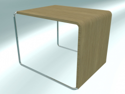 Table basse-chaise UENO T50 (45x41 H35)